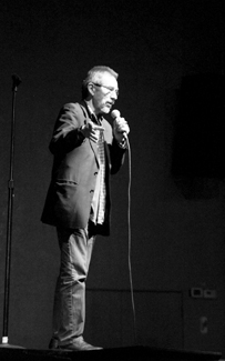 Steven Devine   Argoanut Guest speaker John Trudell attends the 11th Annual Native American Film Festival Wednesday evening at the Kenworthy Performance Arts Centre. Trudell is a poet, artist, actor and an activist who screened in