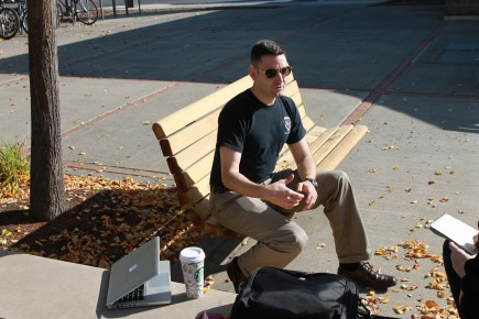 UI senior experiences college on campus and across the world