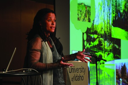 A life spent traveling— Carolyn Finney talks about environmental justice, life experiences at event